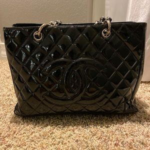 Chanel GST patent leather